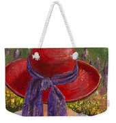 Red Hat Garden Weekender Tote Bag