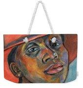 Red Hat Lady Weekender Tote Bag