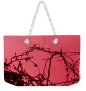 Red Haze Weekender Tote Bag