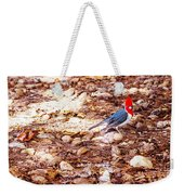 Red Head Weekender Tote Bag