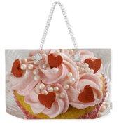 Valentine Cupcakes  Weekender Tote Bag