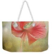 Red Hibiscus Weekender Tote Bag by David and Carol Kelly