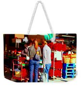 Red Hot Chili  Peppers Sweet Pimentos Jalapenos And Habaneros Food Art Scenes Carole Spandau Weekender Tote Bag
