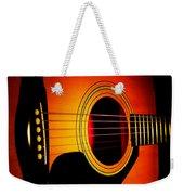 Red Hot Guitar Weekender Tote Bag