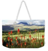 Red Hot Pokers Of The Andes Weekender Tote Bag