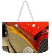 Street Car - Red Hot Rod Weekender Tote Bag