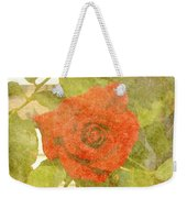 Red Hot Rose Weekender Tote Bag