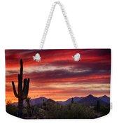 Red Hot Sonoran Sunset Weekender Tote Bag