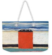 Red House, 1932 Oil On Canvas Weekender Tote Bag