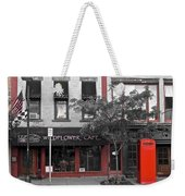 Red Is The Color Of The Day Weekender Tote Bag