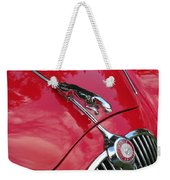 Red Jaguar 3.8 Weekender Tote Bag