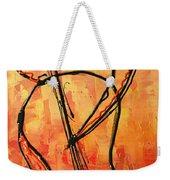 Red Jazz 3 Weekender Tote Bag