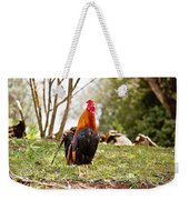 Red Jungle Fowl - Moa Weekender Tote Bag
