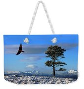 Red Kite Weekender Tote Bag