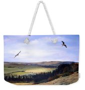 Red Kites At Coombe Hill Weekender Tote Bag