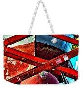 Red Lift Weekender Tote Bag