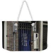 Red Light Complex Amsterdam Weekender Tote Bag