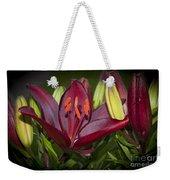 Red Lily 6 Weekender Tote Bag