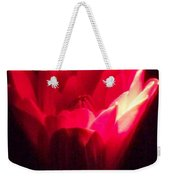 Red Lily At Night Weekender Tote Bag