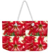 Red Lily Four Weekender Tote Bag