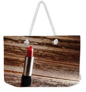 Red Lipstick Weekender Tote Bag