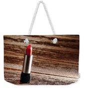 Red Lipstick Weekender Tote Bag