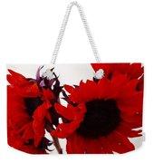 Red Lullaby Weekender Tote Bag