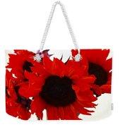 Red Lullaby No2 Weekender Tote Bag