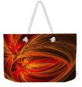 Red Luminescence-fractal Art Weekender Tote Bag