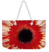 Red  Macro Daisy  Weekender Tote Bag