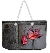 Red Maple Bricks Weekender Tote Bag
