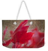 Red Maple Dreams Weekender Tote Bag