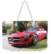 Red Mercedes Benz Weekender Tote Bag