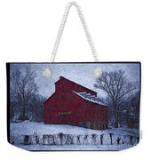 Red Mill Antique Barn Weekender Tote Bag