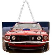 Red Mustang Weekender Tote Bag