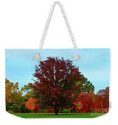 Red Oak In Loose Park Weekender Tote Bag