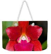 Red Orchid Weekender Tote Bag
