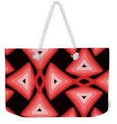 Red Ornament IIi Weekender Tote Bag