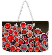 Red Palate Weekender Tote Bag