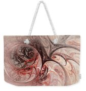 Red Passion - Abstract Art Weekender Tote Bag