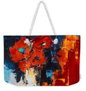 Red Passion Weekender Tote Bag