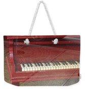 Red Piano 2 Weekender Tote Bag