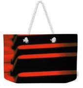 Red Piano Weekender Tote Bag