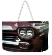 Red Pickup Weekender Tote Bag