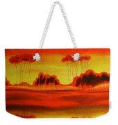 Red Planet Weekender Tote Bag