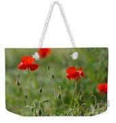 Red Poppies 2 Weekender Tote Bag