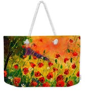 Red Poppies 45 Weekender Tote Bag