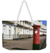Red Postbox Weekender Tote Bag
