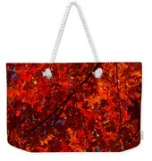 Red Red And Red Weekender Tote Bag