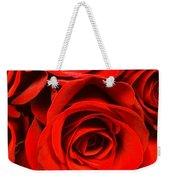 Red Red Rose Weekender Tote Bag